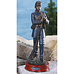Civil War Collectible Union Soldier Sculpture