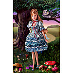 Alice In Wonderland Collectible Barbie Doll