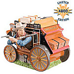 John Wayne Stagecoach Movie Collectible Cookie Jar