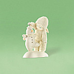 Department 56 Snowbabies Let's Give It A Whirl Mr. Snowman Collectible Spinner Figurine