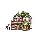 Department 56 Snow Village Kringles Korner Gift Set