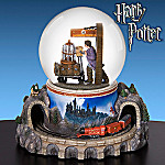 Harry Potter Hogwarts Express Animated Musical Water Globe