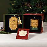 Comfort Candles Comfort And Joy Mother Candleholder And Ornament Gift Set