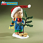 Peanuts A Charlie Brown Christmas Collectible Figurine: Charlie Brown's Christmas Tree