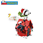 Peanuts Snoopy The Flying Ace Christmas Collectible Figurine