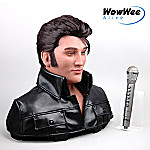 WowWee Alive(TM) Collectible Elvis Animated Robotic Bust