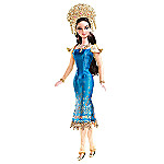 Collectible Dolls Of The World Barbie Doll: Sumatra-Indonesia