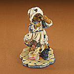 Boyds Barbara Gentletouch With George - Sweet Distractions Teddy Bear Nurse Figurine