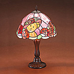 Boyds Evening Rose Tiffany Style Lamp