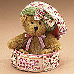 Boyds Grammy Hatbox Collectible Teddy Bear: Gift For Grandmothers