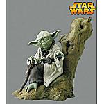 Kotobukiya Star Wars Yoda Pre-Painted Soft Vinyl Model Kit: Yoda Collectible Figure