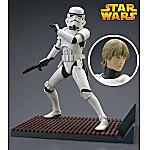 Kotobukiya Star Wars Stormtrooper Helmet & Luke Skywalker Pre-Painted Soft Vinyl Model Kit