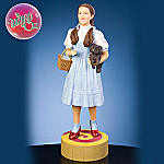 Wizard Of Oz Collectible Dorothy With Toto Figurine