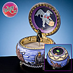 Wizard Of Oz Wicked Witch Of The West Collectible Hinged Music Box