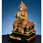 The Phantom Of The Opera Collectible Monkey With Hand Crank Animated Music Box