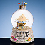 Humpty Dumpty Collectible Water Globe Music Box