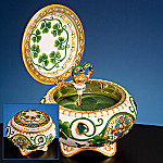 Irish Collectible Hinged Music Box