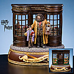 Collectible Harry Potter Ollivanders Wand Shop Musical Figurine