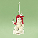Department 56 Snowbabies Baby's First Christmas 2008 Collectible Ornament