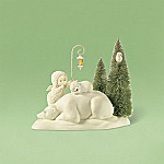 Department 56 Snowbabies Shhh ... Baby Dreaming Collectible Figurine Set