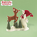 Department 56 Snowbabies Collectible Rudolph's Flying Lesson Figurine