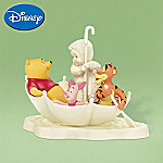 Department 56 Snowbabies Winnie The Pooh Collectible Figurine: Blustery Day With Pooh