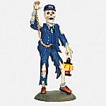 Department 56 Time's-A-Wastin' Snow Village Halloween Collectible Village Accessory