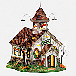 Department 56 Snow Village Halloween Ghoul School Collectible Village Building