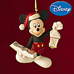 Lenox 2008 Mickey's Christmas Song Ornament