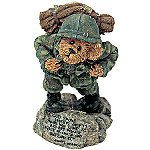 Boyds GI Bruin Stand For Freedom Figurine