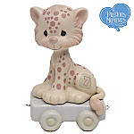 Precious Moments Birthday Train Wishing You Grr-eatness Age 7 Figurine