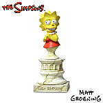 Lisa Simpson Bust Figurine