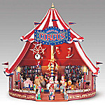 Mr. Christmas World's Fair Big Top Circus Musical