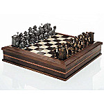 Firemen's 32 Piece Chess Set Game