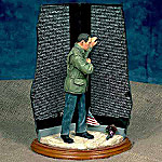 The Vietnam Wall Figurine