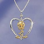Lenox Tweety Heart Pendant