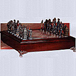 Civil War Chess Set Game