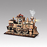 Mr. Christmas Christmas Cannonball Animated Music Box