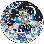 2001 Bing & Grondahl Snow Fairies Christmas Plate
