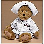 Boyds Nurse Betty Pan Plush Collectible Teddy Bear