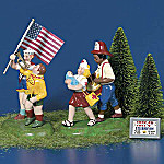 Department 56 Original Snow Village(R) Fourth Of July Celebration Figurine