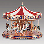 Mr. Christmas World's Fair Carousel Music Box