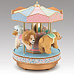 Mr. Christmas Plush Animal Carousel Musical