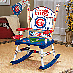 Chicago Cubs Major League Baseball Rocking Chair