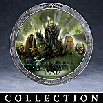 The Lord Of The Rings Collector Plate Collection