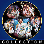 An Evening With Elvis Collector Plate Collection