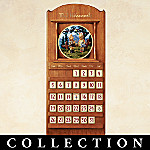 M.I. Hummel Seasons Of Joy Collector Plate Calendar Collection