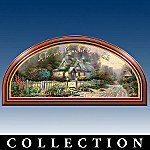 Thomas Kinkade Home Blessing Collector Plate Panorama Collection