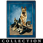 Linda Picken Guardian Shepherds Collector Plate Collection
