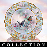 Jewels Of The Garden Collector Plate Collection
